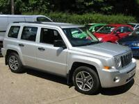 2009 Jeep Patriot 2.0CRD Sport DIESEL 5 Door Silver only 43316 MIles FSH 1 OWNER