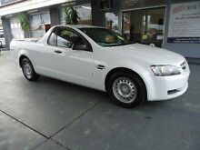 2010 Holden Commodore VE MY10 Omega White 4 Speed Automatic Utility Hamilton Newcastle Area Preview