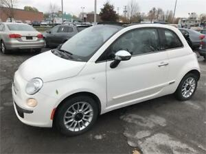2012 Fiat 500 *CONVERTIBLE* CUIR BOSE AUDIO AUTOMATIQUE