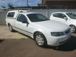 2003 FORD FALCON UTE. BA XL SUPER CAB, 3 SEATER, COLUMN SHIFT Belmont Lake Macquarie Area Preview