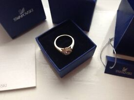 Beautiful Swarovski Angelic Ring. Excellent condition. Size 55 (n-o UK size).