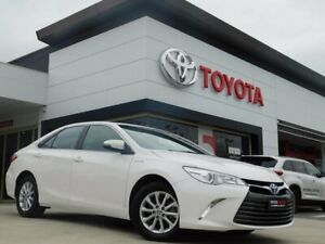 2016 Toyota Camry AVV50R MY16 Altise Hybrid White Continuous Variable Sedan Greenway Tuggeranong Preview