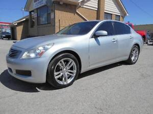 2008 INFINITI G35x  Sedan Sport All Wheel Drive Leather Sunroof