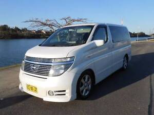 2004 Nissan Elgrand E51 Highway Star roof racks awning and bed Scotts Head Nambucca Area Preview