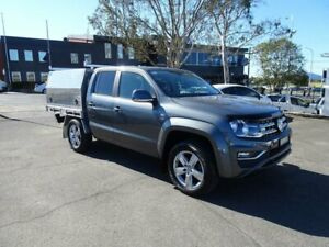 2017 Volkswagen Amarok 2H MY18 TDI550 4MOTION Perm Sportline Indium Grey 8 Speed Automatic Utility Nowra Nowra-Bomaderry Preview