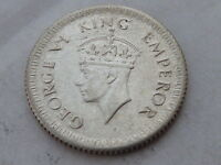 1/4 Rupia De Plata Jorge Vi De 1943 Imperio Britanico, India, 1/4 Rupee -  - ebay.es