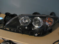 MAZDA 3 SEDENT PHARE HEADLIGHT HEADLAMP LUMIÈRE LIGHT LAMP