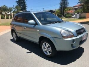2009 Hyundai Tucson JM MY09 City SX Blue 5 Speed Manual Wagon Southport Gold Coast City Preview