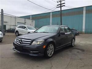 2011 Mercedes Benz C250 4matic,only65kms, sunroof, heated seats