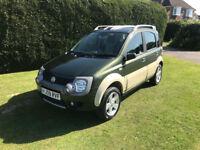 2009 Fiat Panda 4x4 Cross Panda - 1.3 M-Jet Diesel - Verde Green - 87,921 miles