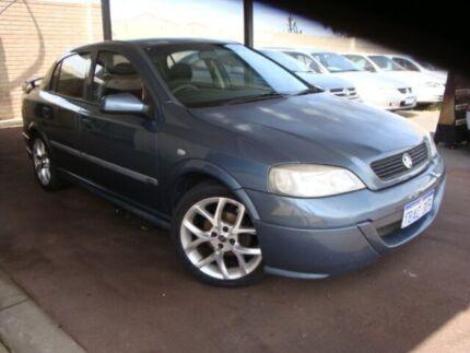 2001 Holden Astra TS CD Blue 5 Speed Manual Sedan