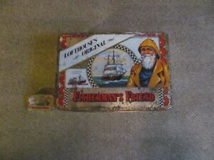 LARGE AND SMALL FISHERMAN'S FRIEND TINS