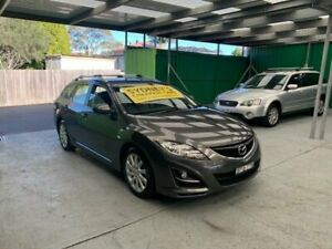 2010 Mazda 6 GH1052 MY10 Touring Grey Sports Automatic Wagon Croydon Burwood Area Preview