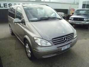 2008 Mercedes-Benz Viano 639 MY07 Ambiente Grey 5 Speed Automatic Wagon Cheltenham Kingston Area Preview