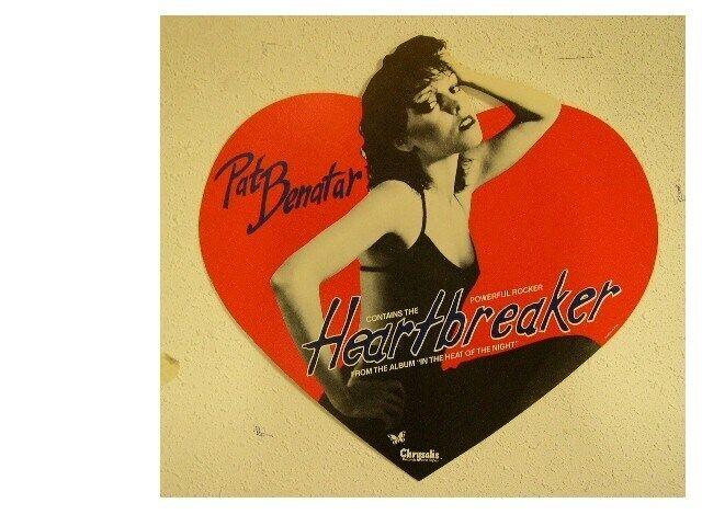 Pat Benatar Poster Heart Breaker Flat