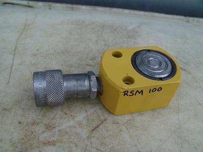 Enerpac Rsm-750 Hydraulic Cylinder Flat-jac 75 Ton 58 Stroke Nice 15