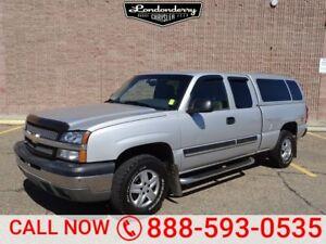 2003 Chevrolet Silverado 1500 4WD EXTCAB Z71 A/C,