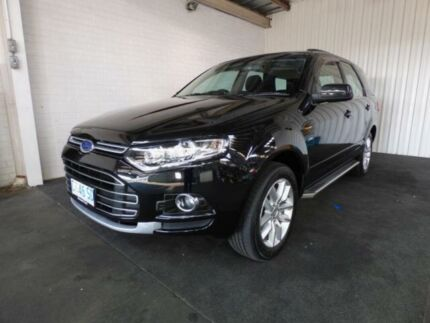 2012 Ford Territory SZ TS (4x4) Black 6 Speed Automatic Wagon Devonport Devonport Area Preview