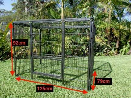 Premium Dog Pet play pen strong extendable or with roof