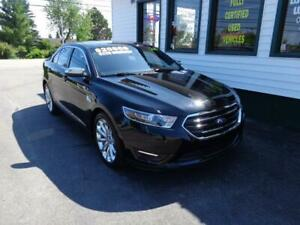 2018 Ford Taurus Limited AWD for only $225 bi-weekly all in!