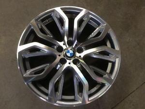 "Brand New BMW 20"" wheels gun metal machined"