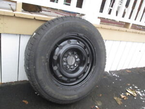 225/70R-16 snows on GM rims