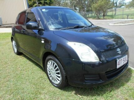 2009 Suzuki Swift RS415 GLX Black 5 Speed Manual Hatchback Kippa-ring Redcliffe Area Preview