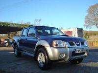 2003 NISSAN NAVARA 2.5 DI D22 DOUBLE CAB PICK UP 4X4
