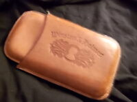 Stogie cases leather