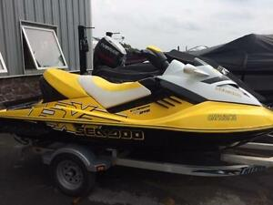 2009 Seadoo RXT 215 only 65 hours - two of them
