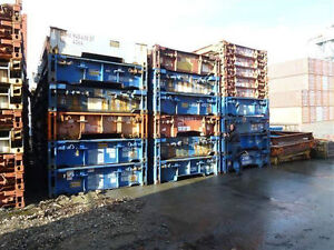 STEEL CONTAINER BRIDGE - 20' & 40' span your creek or ditch