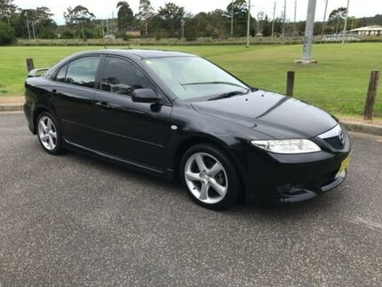 2005 Mazda 6 GG1031 Luxury Sports Black Sports Automatic Hatchback