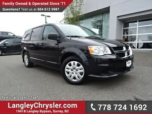 2015 Dodge Grand Caravan SE/SXT ACCIDENT FREE w/ POWER WINDOW...