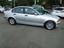 2001 BMW 318I E46 Executive Silver 5 Speed Auto Steptronic Sedan Waratah Newcastle Area Preview