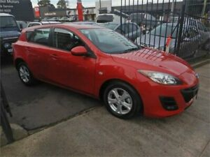 2010 Mazda 3 BL Maxx Red 5 Speed Automatic Hatchback Burwood Whitehorse Area Preview