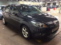 2010 FORD FOCUS 1.6 ZETEC AUTOMATIC PETROL 5 DOOR HATCHBACK LONG MOT 5 SEAT PARKING SENSOR N GOLF