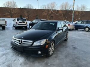 2009 Mercedes Benz C300 AWD LEATHER,MOONROOF,2 SETS OF TIRES 4 M