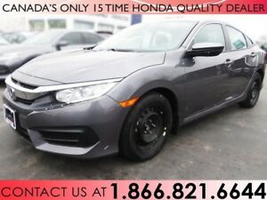 2016 Honda Civic Sedan LX | 1 OWNER | NO ACCIDENTS