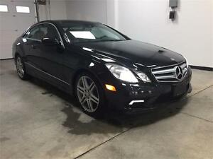 2010 Mercedes Benz E550 Coupe, fully loaded ,rare!