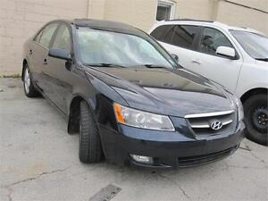 2007 Hyundai Sonata GLS 3.3L V6 Leather Sunroof Alloy Sirius XM