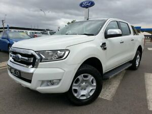 2015 Ford Ranger PX MkII XLT Double Cab 4x2 Hi-Rider White 6 Speed Sports Automatic Utility Kilmore Mitchell Area Preview