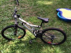 """26"""" Silver Supercycle Mountain Bike Gently Used"""