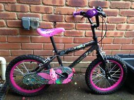 "Disney Tinkerbell Kids Bike 16"" Age Group 5 - 8"