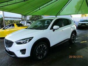 2017 Mazda CX-5 MY17 Akera (4x4) White 6 Speed Automatic Wagon Heatherbrae Port Stephens Area Preview