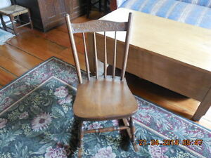 Antique Pressback Rocker Childs Kingston Kingston Area image 2