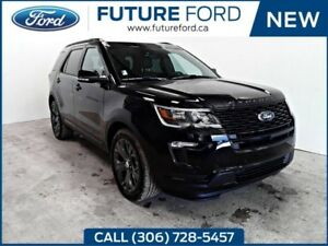 2018 Ford Explorer Sport | 2ND ROW CAPTAIN CHAIRS | TWIN PANEL M