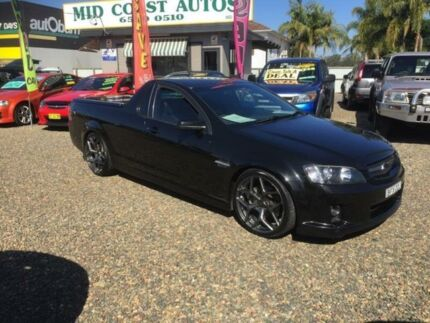 2008 Holden Commodore VE SS-V Black 6 Speed Manual Utility Taree Greater Taree Area Preview