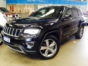 2013 Jeep Grand Cherokee WK MY14 Limited (4x4) Black 8 Speed Automatic Wagon Beckenham Gosnells Area Preview