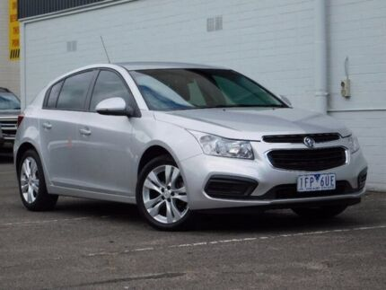 2015 Holden Cruze JH Series II MY15 Equipe Silver 6 Speed Sports Automatic Hatchback Hadfield Moreland Area Preview