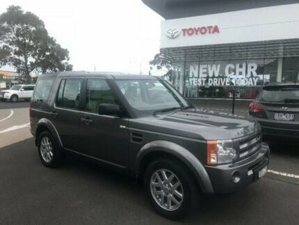 2008 Land Rover Discovery 3 Series 3 08MY SE Grey 6 Speed Sports Automatic Wagon